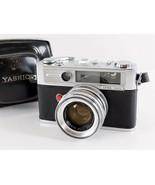 Yashica Lynx 5000 Rangefinder 35mm Camera Yashinon 45mm f/1.8 Lens Carry... - $59.39