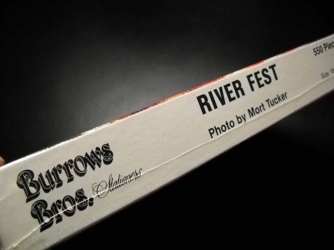 Burrows Bros Jigsaw Puzzle River Fest Cleveland Mort Tucker Photography Sealed