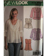 Pattern 6622 Young Girl's Tunic Length Shirt sz 8-18 - $6.99