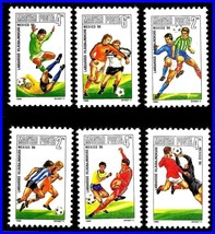 HUNGARY 1986 FIFA - WORLD SOCCER CUP / FOOTBALL MNH 733+ PEOPLE SAW IT!!... - $1.10