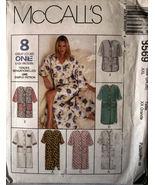 Pattern 8569 Plus Size Robe Long or Short sz 24-26 - $3.99