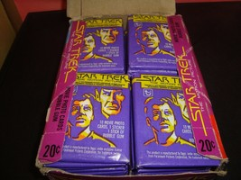 Quantity 3 1979 Topps Star Trek The Movie Unopened Wax Pack 20 Cent Pack... - $10.00