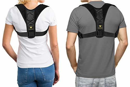 Bodywellness Posture Corrector for Men and Women with Armpit Pads - Upper Back B