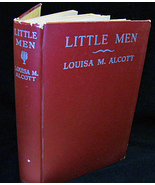 Little Men 1913 Grosset Dunlap HC Very Good w dj Alcott - $16.50
