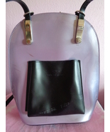 Beijo London Paris New York Backpack Purple Light Lavender Shoulder Bag - $19.99