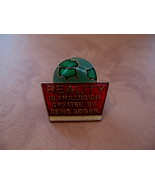 Reality Is An Illusion Created By Being Sober Lapel Hat Pin - $4.99