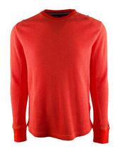 TOMMY HILFIGER Men's Waffle Style Long Sleeve Shirt-PR-S - $49.47