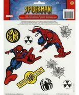 Spider Man Window Clings Decals Marvel Comics Kids Decor Bedroom 3+ - $1.93