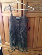 Jeri C new york camisole top khaki  junior's size medium - $19.99