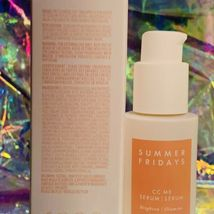 New In Box Summer Fridays CC Me Serum 1oz (30mL) Potent Vitamin C Brightening image 3