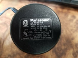 Panasonic RP-31 AC Adaptor DC 3V 300mA Tape Player Recorder Charger Power Supply - $5.93