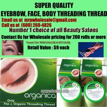 1 X Eyebrow threading thread ORGANICA USA seller FREE SHIP $7 retail  - $4.29