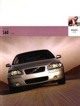 2005 Volvo S60 sales brochure catalog 05 R T5 AWD - $8.00