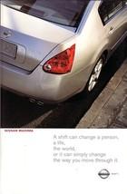 2003/2004 Nissan MAXIMA sales brochure catalog set US 04 - $8.00