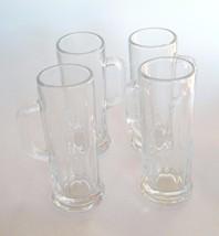 Libby USA Double Shot Glass Miniature Stein Mug Set Of 4 Vintage - $27.97