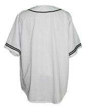 Malcolm X Baseball Jersey Button Down White Any Size image 4