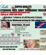 40 X Eyebrow threading thread BELLA FREE SHIP USA UK $9 retail each US s... - $60.99