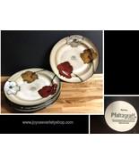 "Pfaltzgraff Sarina Handcrafted Glazed 11"" Dinner Plates Set of 4 - $49.99"