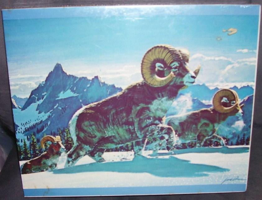 Eddie bauer winter animal puzzle