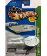 Star Trek U.S.S Enterprise NCC-1701 Hot Wheels 2013 HW Imagination Die C... - $8.99