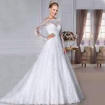 Women New Style Sweetheart A-Line Bridal Wedding Gown image 1