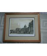 FRAMED PARIS IN ITS SPLENDOR 1861 ORIGINAL ARCHITECTURE ANTIQUE FOLIO LI... - $151.99