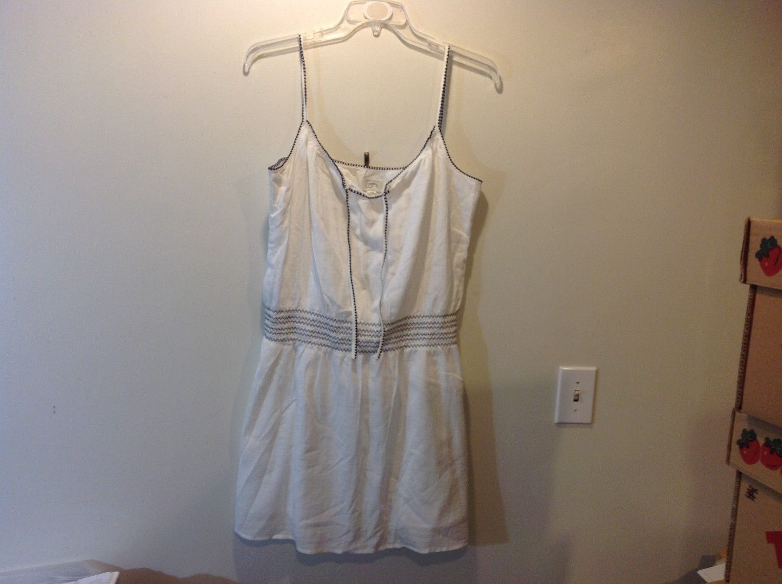 Ann Taylor LOFT Spaghetti Strap Summer Dress