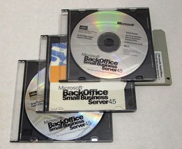 Microsoft Back Office Small Business Server 4.5 With Resource Kit Nfr - Nice - $11.24