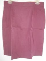 Women's Fashion Optious Maroon Knee-Length Skirt  Size 16 NWT - $9.49