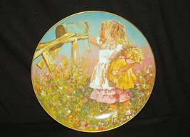 Old Vintage 1981 Collectors Plate Star's Summer by Jessica Zensky Schmid... - $14.84