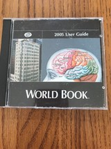 World Book 2005 User Guide Deluxe Édition Ships N 24h - $12.85