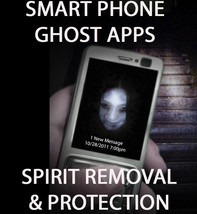 Smart Phone Ghost Apps Spirit Entities Removal Protection Magick Witch Cassia4 - $44.77