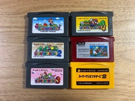 Nintendo Game Boy Advance GBA Super Mario Bros. Famicom Mini Super Mario... - $63.67