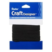 Better Crafts Sueded Cord Black 3MM 3YD (3 Pack) (01999-4810) - $12.83