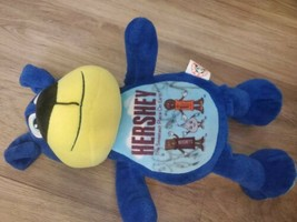"Hershey Park Plush Blue Dog Stuffed Animal Peek A Boo Toys  15"" - $9.90"