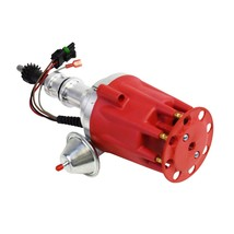 Pro Series R2R Distributor for Ford SBF 260 289 302 V8 Engine Red Cap image 2