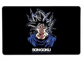 Son Goku Ultra Instinct Large Mouse Pad 10x16 12x18 14x24 18x36 Extended... - $16.50+
