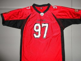 Red VINTAGE Starter Maryland Terrapins #97 NCAA Football Jersey Youth 16... - $22.22