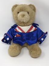 "Build a Bear Workshop So Cute Plush Tan Bear with Magician Shirt 13"" - $12.99"