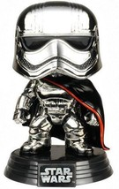 Star Wars Captain Phasma Chrome POP! Smugglers Bounty Exclusive 91 - $51.99
