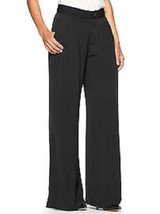 New Gap Women Double Pleat Soft Trouser Pants Black Size 8 Reg Msrp$49.99 - $32.66