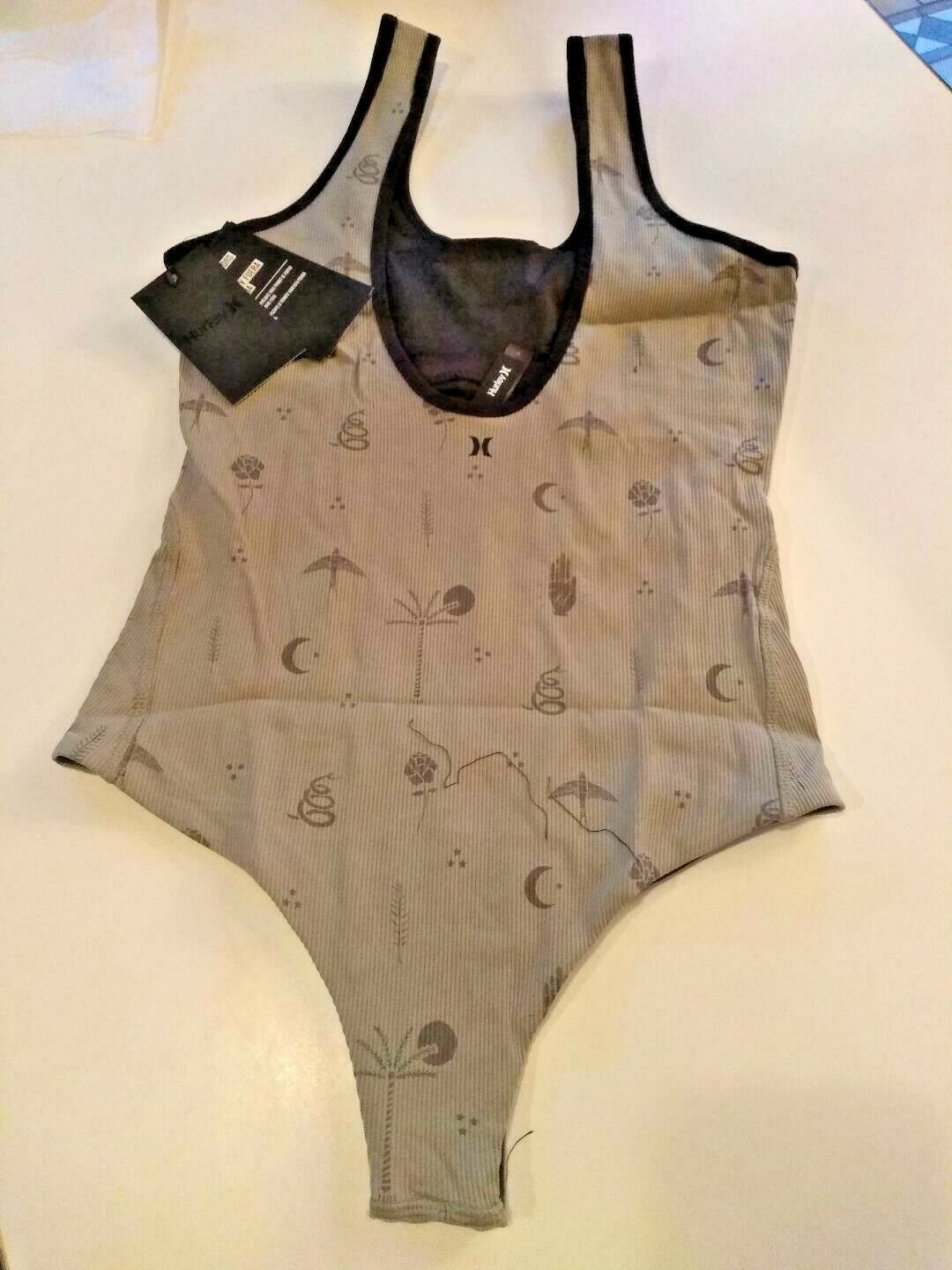 Hurley Q/D Port Quick Dry Body Suit Size X Small