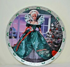 1995 Holiday Barbie Limited Edition Collector's Porcelain Plate by ENESCO - $15.99