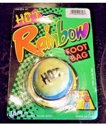 Hot Rainbow Foot Bag 1994 New Vintage HACKY SACK JA-RU NO. 756 - $12.17 CAD