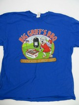 Big Griff's BBQ Wisconsin It's The Wood That Makes It Good T-Shirt Size XL - $12.86