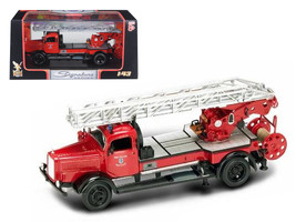 1944 Mercedes Typ L4500F Fire Engine Red 1/43 Diecast Model by Road Sign... - $29.19