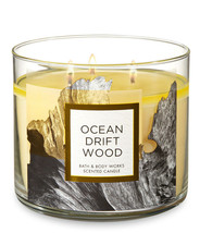 Bath & Body Works Ocean Driftwood Three Wick 14.5 Ounces Scented Candle - $23.95