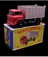 1960s Lesney Matchbox 26 GMC Tipper Truck BPW Mint Box - $36.95