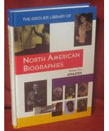 North American Biographies Vol 2 Athletes Grolier HB FE - $14.48