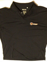 Adidas Climacool Basketball Final Logo Men's Polo Golf Shirt X-LARGE Bla... - $19.79